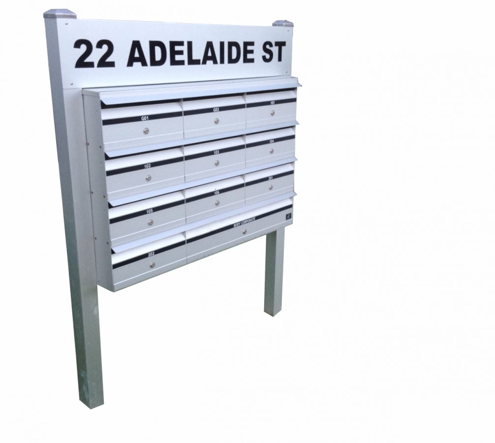Letterbox Bank on posts