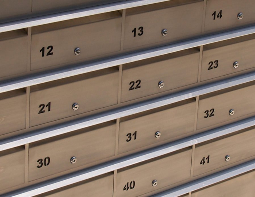 Letterbox Bank Stainless Commercial