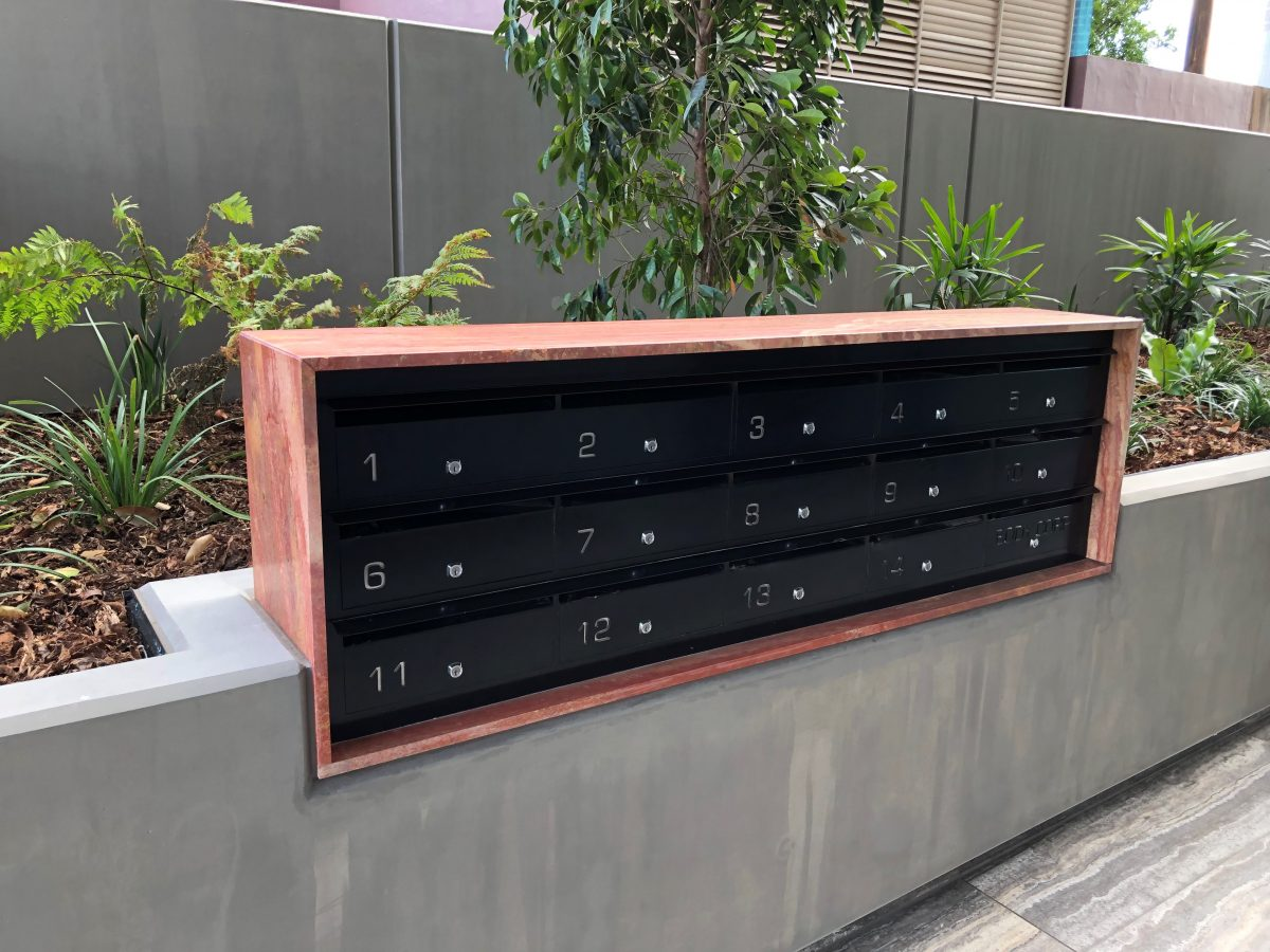 Beautiful letterbox bank