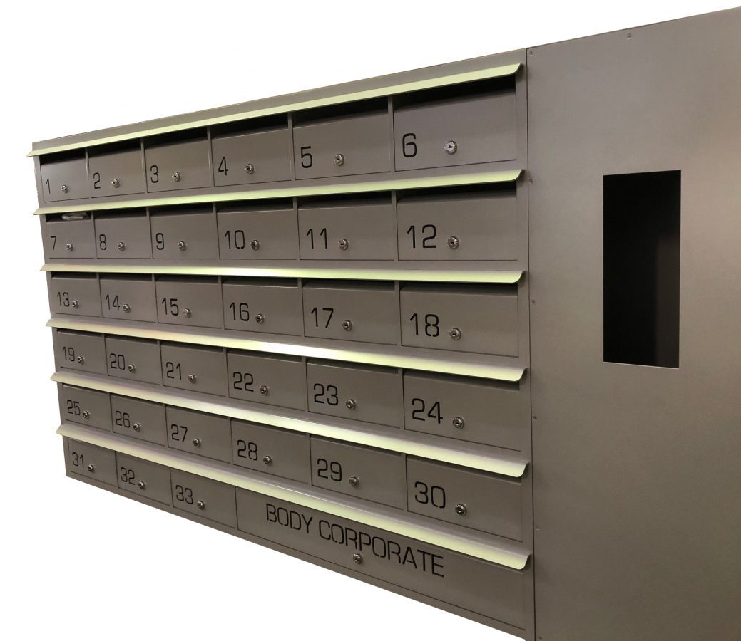 letterbox with intercom