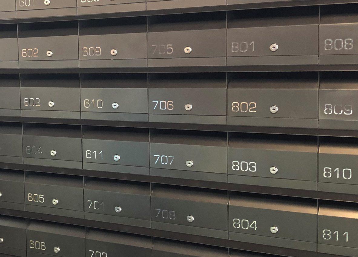 Multi Letterboxes