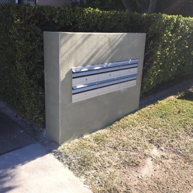Australian Unit Letterbox