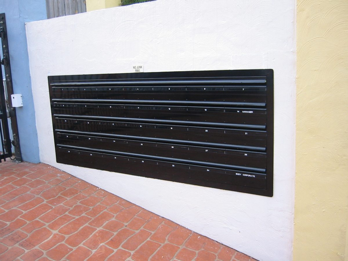 Standard Commercial Mailbox