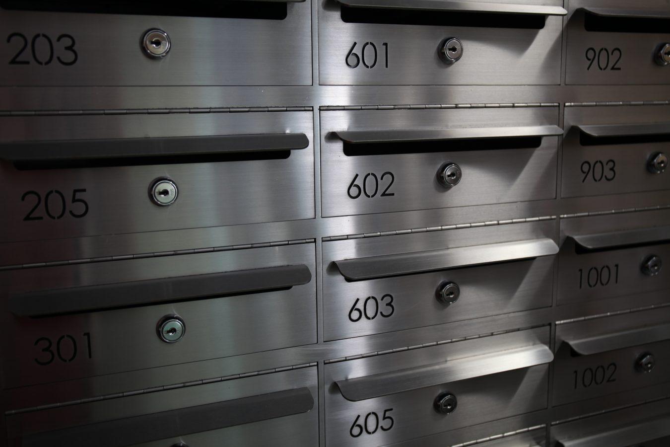Custom designed mailbox cluster