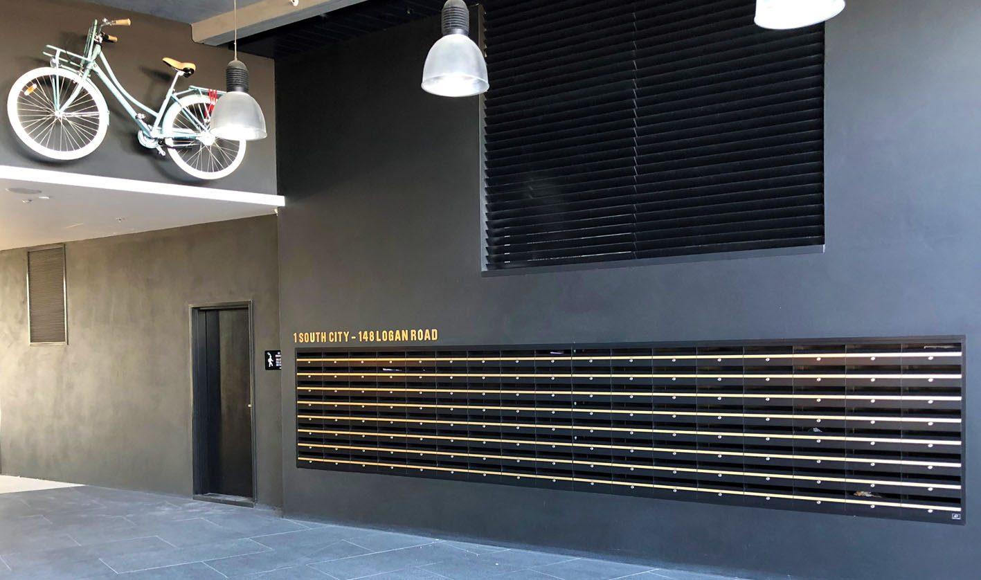 feature apartment letterbox banks