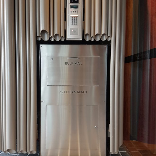 Stainless Parcel Bin Letterbox